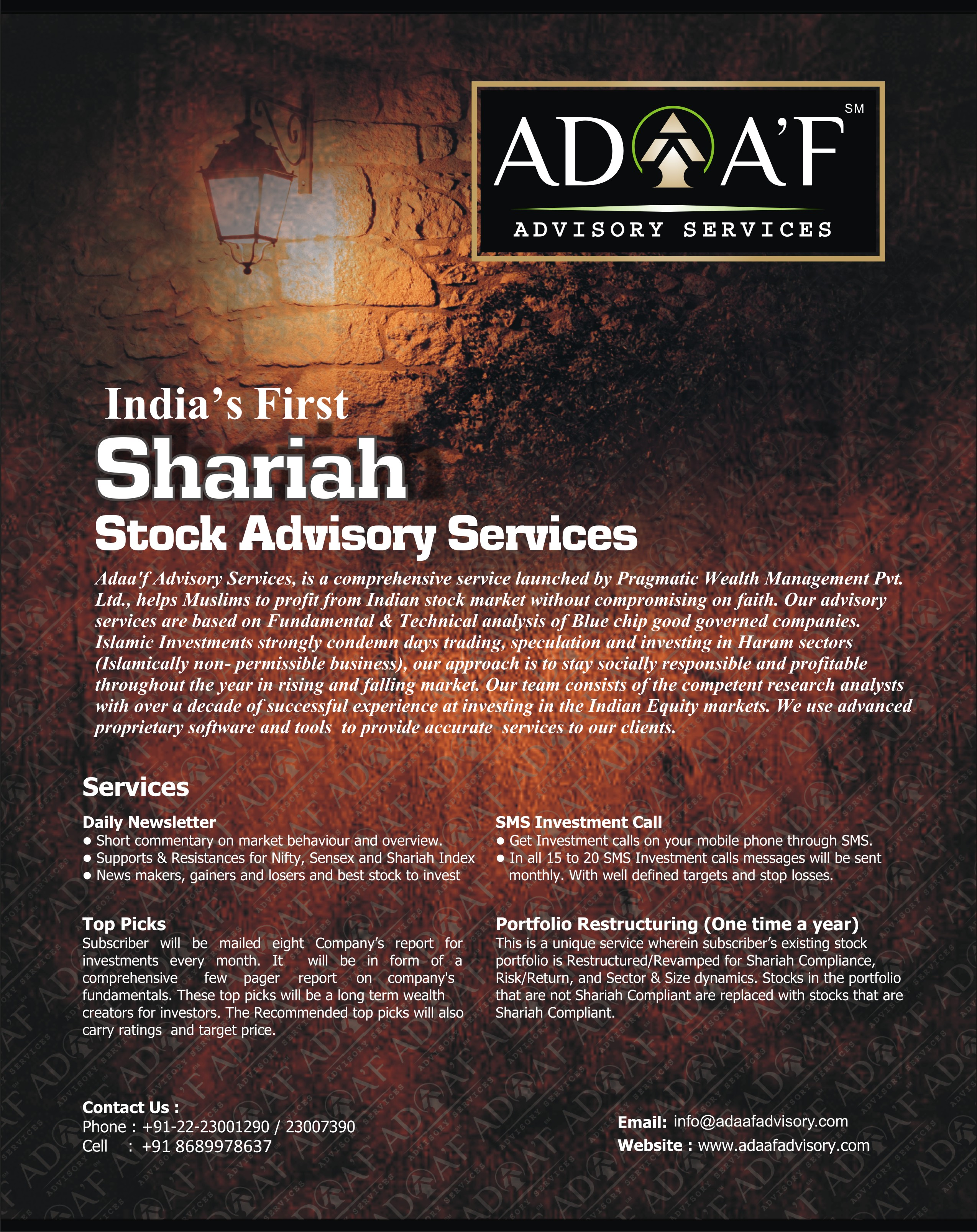 criteria for shariah advisor These scholars presented a set of shariah screening criteria and ruled that  muslim  shariah advisors in order to comply with the regulatory requirements.